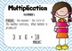 MULTIPLICATION explained + Times Tables
