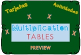 MULTIPLICATION:  flashcards and activities. Math Centers.