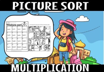 MULTIPLICATION  picture sort.