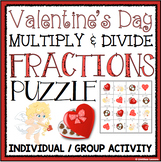 VALENTINE'S DAY MULTIPLY AND DIVIDE FRACTIONS