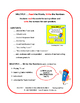 MULTIPLICATION VOCABULARY   Words on TASK CARDS   FACTS   CORE Gr 3 MATH