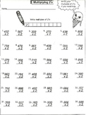 Multiply 3-Digit by 1-Digit (worksheets)