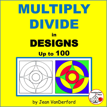 MULTIPLY and DIVIDE to 100 | REVIEW MATH | COLOR | GEOMETRIC Design | Grade 3