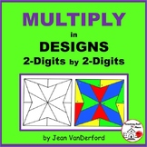 MULTIPLY 2-Digits  | Color GEOMETRIC DESIGNS | Early Finis