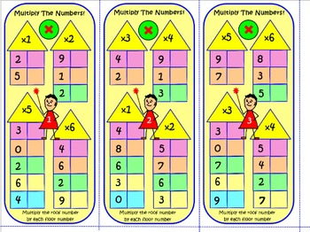 MULTIPLICATION OF 1& 2 DIGIT NUMBERS: 67 TASK CARDS 1000 Qs Test Prep Worksheets