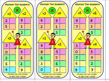 MULTIPLICATION OF 1& 2 DIGIT NUMBERS: 67 TASK CARDS 1000 Qs Test Prep Worksheets
