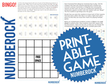 MULTIPLYING FRACTIONS BY WHOLE NUMBERS: Word Problems, Video, & Activities Pack