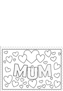 MUM Card for Mother's Day