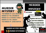 MURDER MYSTERY BUNDLE - 10 MURDER MYSTERIES TO SOLVE