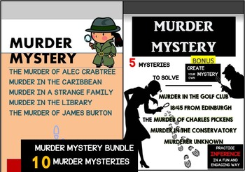 MURDER MYSTERY BUNDLE - 10 MURDER MYSTERIES TO SOLVE