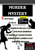 MURDER MYSTERY II. - 5 MURDER MYSTERIES TO SOLVE