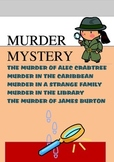 MURDER MYSTERY I. - 5 MURDER MYSTERIES TO SOLVE