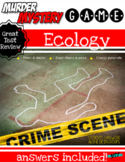 MURDER MYSTERY: ECOLOGY (Uses QR Codes & Google Forms)