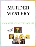 MURDER MYSTERY - Who killed Mr Burns? (Halloween edition)