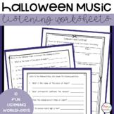 Halloween Music Listening Activities