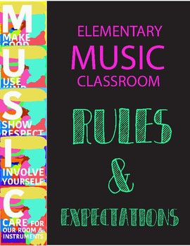 Classroom Rules & Expectations - MUSIC CHOIR BAND
