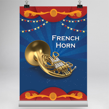 MUSIC: 40 Musical Instrument Poster [8.5x11]