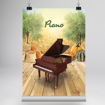 MUSIC: 40 Musical Instrument Posters - Fall Edition [8.5x11]