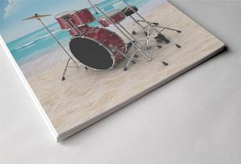 MUSIC: 40 Musical Instrument Poster - Summer Edition [8.5x11]