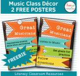 Music Class Decor Posters - What Great Musicians Do