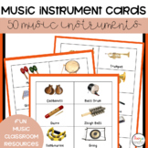 Music Instrument Cards