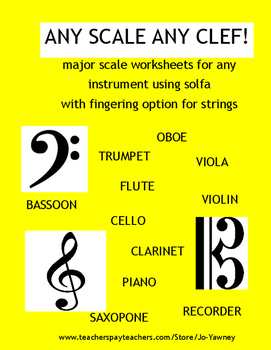 MUSIC - ANY SCALE ANY CLEF!