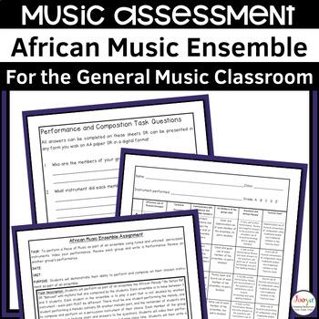 MUSIC - African Music Ensemble Assignment - Obi Senya Na