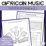 African Music Composition Project