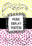 MUSIC BULLETIN BOARD - Display Posters - Notes & Signs