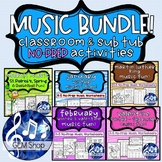MUSIC BUNDLE K-5 Activities January February March Theory