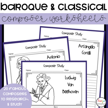 MUSIC- Baroque and Classical Composer Study