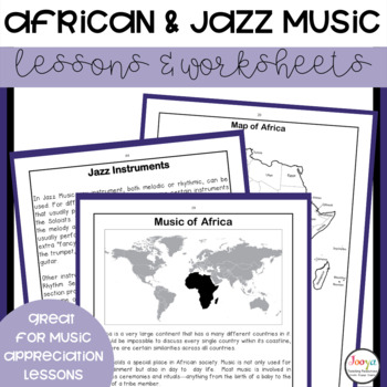 MUSIC - Beginnings of Rock. African and Jazz Music Unit of Work