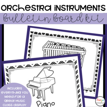 Music Class Decor - Instruments of the Orchestra