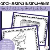 Instruments of the Orchestra Music Classroom Decor