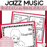 MUSIC- Bulletin Board Kit - Jazz Music Month