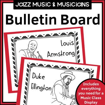 Music Class Decor - Jazz Music