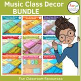 Music Classroom Decor Bundle