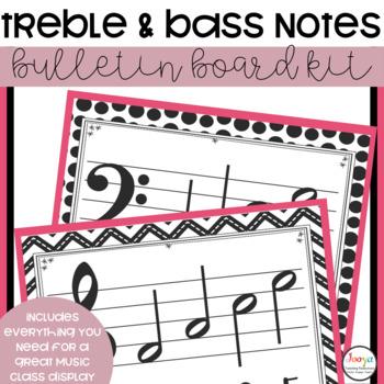 MUSIC- Bulletin Board Kit - Pitch