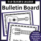 Guitar and Ukulele Music Classroom Decor