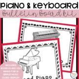 Music Class Decor - Piano and Keyboards