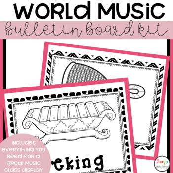 Music Class Decor - World Music