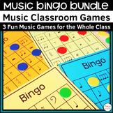 Music Bingo Classroom Games Mini Bundle