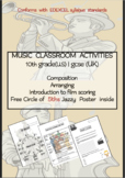 MUSIC CLASSROOM ACTIVITIES 10th grade(U.S) | gcse (UK) and above