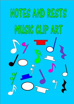 MUSIC CLIP ART NOTES AND RESTS
