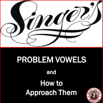 Choir (Chorus) - Problem Vowels