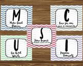 MUSIC Class Rules
