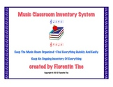 MUSIC Classroom Inventory System