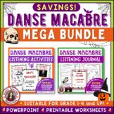 Halloween Music Activities: Danse Macabre Elementary Music BUNDLE