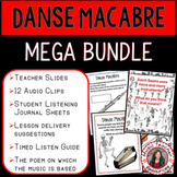Halloween Music Activities: Danse Macabre Elementary Music BUNDLE