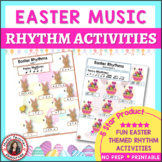 EASTER MUSIC LESSONS Rhythm Activities